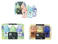 Tommee Tippee Baby Feeding Bottles Colour My World 260ml Boys /  Girls box damag