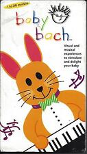 Baby Bach  VHS 2002 - Walt Disney Home Entertainment - Brand New Factory Sealed