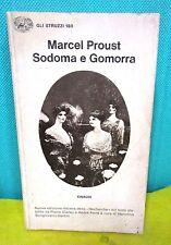 Proust SODOMA E GOMORRA trad. di Giolitti - Gli Struzzi 180 Einaudi 1978