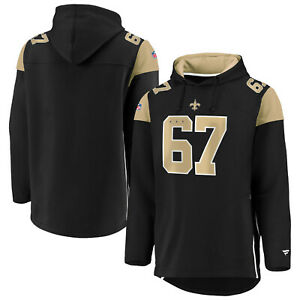 NFL Hoody New Orleans Saints Franchise Overhead Hooded Pullover Hooded Sweater