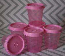 Tupperware 6 MIDGET Spice Containers  2 oz  New!!!
