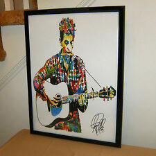 Bob Dylan The Band Singer Guitar Folk Rock Music Poster Print Wall Art 18x24