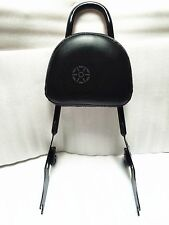 Passenger Backrest Sissy Bar For Harley Sportster XL1200 883 Black 04-2016