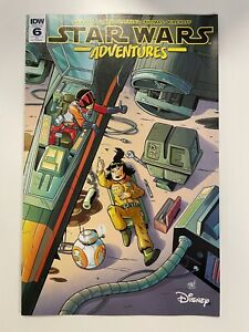 IDW STAR WARS ADVENTURES #6 RI COVER : 1ST APPEARANCE OF ROSE TICO :NM CONDITION