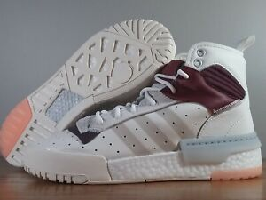New Adidas Originals Rivalry RM High Boost White Burgundy F34143 Men's Sizes