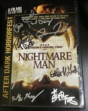 NIGHTMARE MAN DVD signed by Tiffany Shepis, director Rolfe Kanefsky + 6 More!