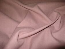 SUPERB QUALITY LINEN STYLE UPHOLSTERY FABRIC IN PINK WITH WHITE FLECK.