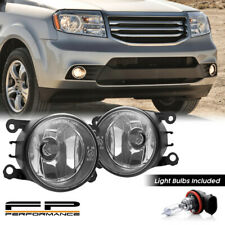 For 12-15 Honda Pilot  33900-T0A-A01 Direct Replacement Fog Lights Assembly Pair