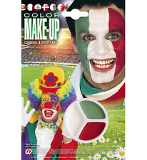 Make Up Tricolore Italia, Rosso Bianco Verde, Trucca bimbi Ultras Tifosi *05725