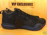 Nike Kobe X 10 Elite FTB Fade To Black Dark Obsidian Black Mamba 869458-441