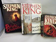 Stephen King Book Bundle (3)