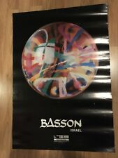 27x19 Signed Noam Basson Israel Poster The 1st Tias 1991 Tokyo International Art