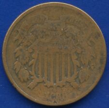 1868 United States 2 Cent Coin