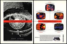 Philips CD-i Games__Original 1994 print AD / game promo__7th Guest_Dragon's Lair