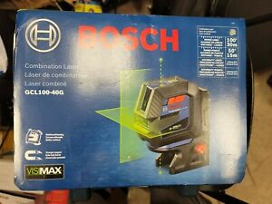 Bosch GCL100-40G-RT GCL100-40G-RT Combination Laser-G RECON New Sealed