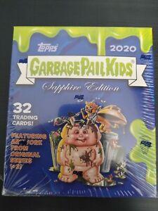 2020 Topps Sapphire Garbage Pail Kids Factory Sealed Box