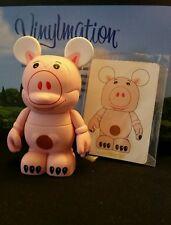 "DISNEY Vinylmation 3"" Park Set 1 Toy Story Hamm Pig with Card"