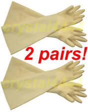 "30Mil 24"" Heavy Duty Industrial Shoulder Length Latex Rubber Glove Long Cuff_2"