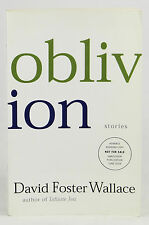 Oblivion ~ DAVID FOSTER WALLACE ~ ARC Advance Copy Uncorrected Proof 1st Edition