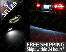 2x Ultra White Error Free Festoon 36mm License Plate Tag LED Light Bulb C6W 6423