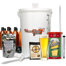 Complete Home Brew Making Starter Kit Pack Christmas Gift 40 Pints COOPERS LAGER