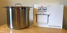 All Clad 20 QT Stockpot With Lid #59920, Excellent Condition!