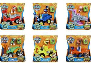 Paw Patrol Dino Deluxe Rescue Vehicles with Pup & Dinosaur Figure *Choose*