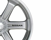 6x Car Alloy Wheel Sticker fits Nissan Decal Vinyl Adhesive PT64