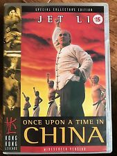 Jet Li ONCE UPON A TIME IN CHINE ~ 1991 Classique HKL Hong Kong Legends GB DVD