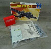Italeri #105 Dornier DO 217 K-1 & Conversion Kit Model Kit Plane Aircraft 1:72