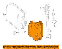 PORSCHE OEM 15-16 Cayenne 3.6L-V6 Cruise Control System-Sensor Cover 95860537901