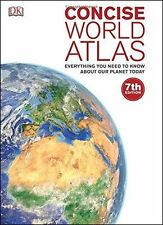DK Concise World Atlas - 7th Edition - Hardcover - New
