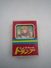 Anime Machine Hayabusa Trump Poker Playing Cards Showa Note Japan Vintage 1970s