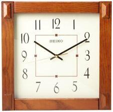 Reloj De Pared Seiko Marrón Oscuro QXA469BLH