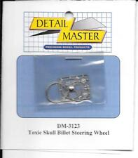 Detail Master Toxic Skull Billet Steering Wheel,  Photo Etch 1/24 -25 3123 ST