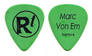 Matchbox Twenty 20 Rob Thomas Marc Von Em Green Guitar Pick - 2005 Solo Tour