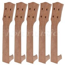 5 Pcs Ukulele Luthier DIY Part 23 inch Concert  Uke Ukulele Neck Mahogany Parts