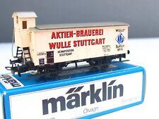 Märklin H0 8478 Bierwagen m. Brhs. Brauerei Wulle Württemberg OVP (MR8013)