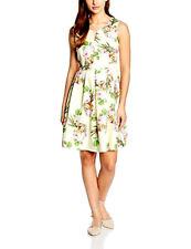 Almost Famous Women's V-Neck Garden Party Dress Sleeveless Dress uk sz 10 new