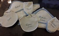 PERSONALISED 3-PIECE BABY TOWEL SET DIFFERENT COLOURS