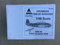 AML Models 1//48 GRUMMAN TBM-3D AVENGER RADAR Resin Conversion Kit