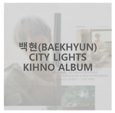 "K-POP EXO BAEKHYUN KHINO ALBUM ""City Lights"" [ 1 PHOTOBOOK + 1 KIT ]"