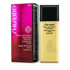 Shiseido Sheer & Perfect Foundation SPF 18 - #B60 Natural Deep Beige 30ml