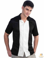 Unbranded Short Sleeve Striped Casual Shirts for Men