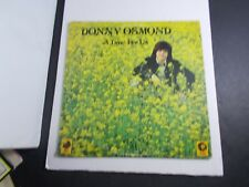 Donny Osmond-A Time for Us- Record Album-Se-4930 Mgm with memorabilia inner