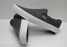 Vans Men's Classic Slip On Perforated Leather Smoked Pearl VN-018DGKB Size: 7