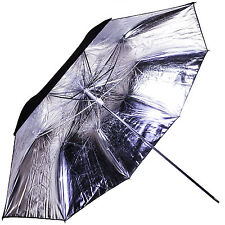 "Interfit Strobies STR213 39"" Silver Lighting Umbrella (w/ Black Backing)"