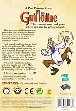 Guillotine Card Game 2011 Wizards of The Coast Complete