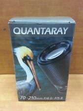New Quantaray 70-210mm F/4.0-F/5.6 Automatic Zoom Lens for Canon 70-210mm.