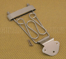 TP-DTL-C Chrome Deluxe Long Trapeze Tailpiece for Thin Hollowbody Guitar